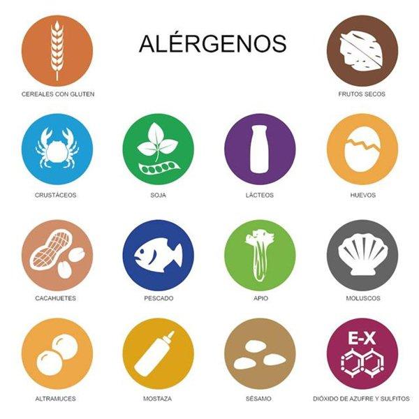 principales alérgenos